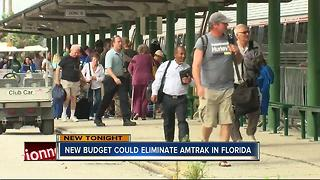 Trump budget would shut down Tampa Amtrak service - Video