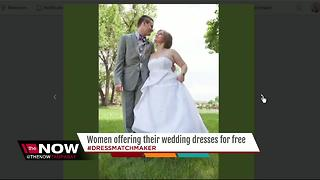 Strangers offering their wedding dresses for free to brides impacted by Alfred Angelo closing - Video