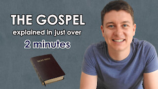 What is the Gospel of Jesus Christ? | Explained in 2 minutes | Easy-Share Version | Christian Video