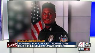 Funeral Thursday for Lee's Summit officer killed in Westport - Video