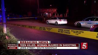 15-Year-Old Killed In Nashville Double Shooting - Video