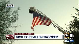 Vigil to be held in honor of fallen DPS trooper Monday - Video