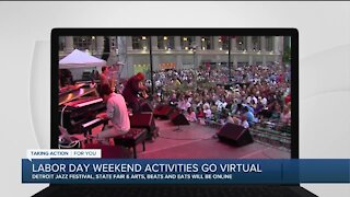 Labor Day weekend activities go virtual