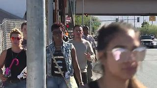 Prayer unity walk shows support for victims - Video