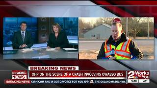 No one injured in Owasso bus crash - Video