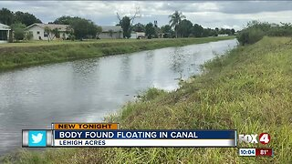 Body found floating in Lehigh Acres canal