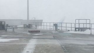 Blizzard Forces Shutdown of New York City Airports - Video