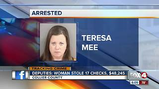 Woman accused of stealing thousands of dollars from employer - Video