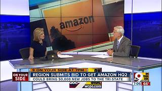 Cincinnati region submits bid to get Amazon HQ2 - Video