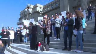 Activists protest gun violence in Boise
