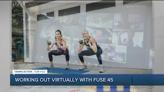 Working Out Virtually with Fuse 45
