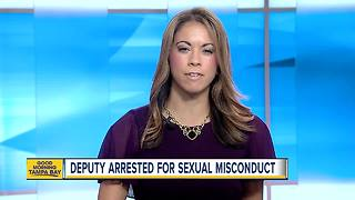 Pasco County detention deputy arrested for sexual misconduct with inmate - Video