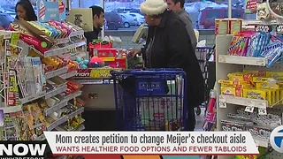 Mom launches petition to change Meijer check out aisles - Video