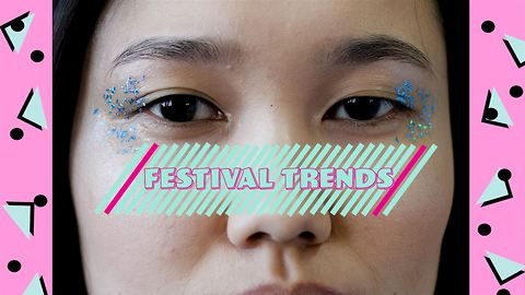 Own the Trend: Low effort, maximum effect festival eyes