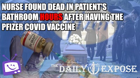 Nurse Found Dead In Patient's Bathroom Hours After Having The Pfizer Covid Vaccine