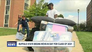 Buffalo State Move-In Day