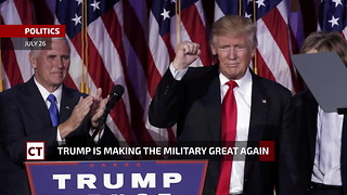 Trump Lays Down The Law On Trans In The Military - Video