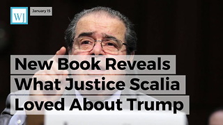 New Book Reveals What Justice Scalia Loved About Trump - Video