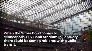 NFL Reeling Over Strike Talk for Super Bowl City - Video