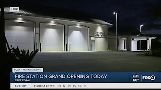 Fire station grand opening
