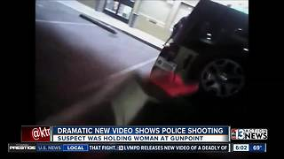 Dramatic body camera video shows police shooting - Video