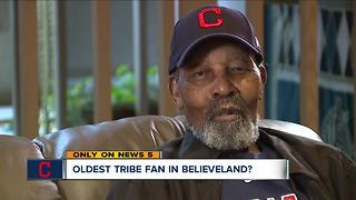 103-year-old Indians fan hoping for World Series win - Video