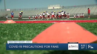 COVID-19 precautions for fans amid pandemic