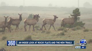 A rare look inside Rocky Flats as new lawsuit challenges opening of public trails - Video