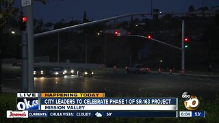 Friars Road improvements completed as part of SR-163 project