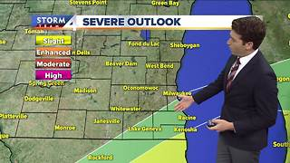 Josh Wurster's Saturday night Storm Team 4cast - Video