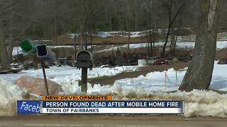 One person dead after Shawano County mobile home fire
