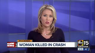 Pedestrian struck and killed in Phoenix - Video