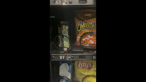 Can you better get stuck in vending machine