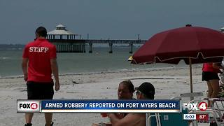 Armed robbery reported on Fort Myers Beach