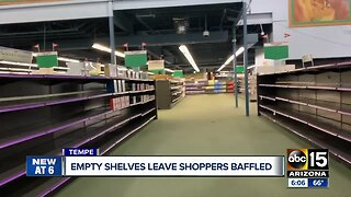 Viewers question empty shelves at Fry's Electronics