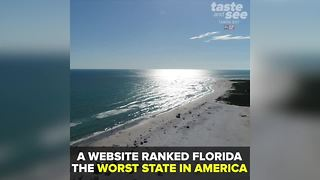 Why Florida was ranked the worst state in the nation | Taste and See Tampa Bay - Video