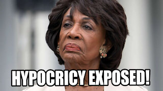 Maxine Waters Hypocrisy EXPOSED