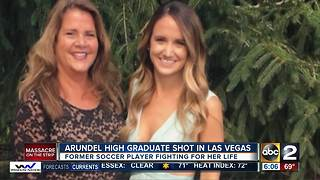 Md. woman, Tina Frost in coma after losing eye in Las Vegas mass shooting - Video