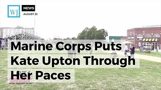 Kate Upton Joins Marines To Raise Awareness - Video