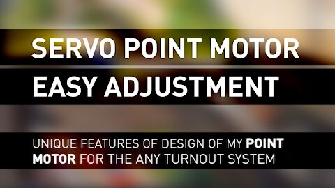 How to setup my servo point-motor for turnouts