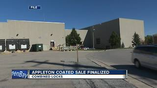 Sale of Appleton Coated to California-based company finalized - Video