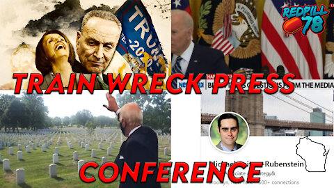 Biden's First Press Conference A Disaster, Dem Defends Dead Voters & US Navy Reveals New UFO Case