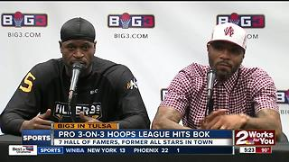 Ice Cube's Big3 League makes stop in Tulsa - Video