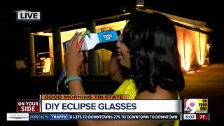 VIDEO: How to make a cereal box projector to view the solar eclipse - Video