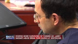 Former gymnast says brother was also a victim of Larry Nassar - Video