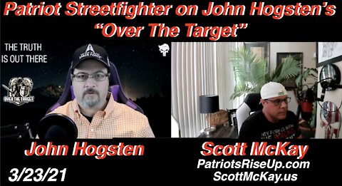 "3.23.21 Interviewed on John Hogsten's ""Over The Target"", Down The Quantum Physics Rabbithole"