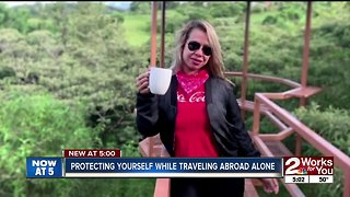 Protecting yourself abroad when traveling alone