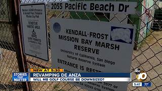 Revamping De Anza Cove in Mission Bay - Video