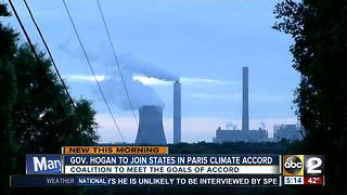 Governor Hogan commits to Paris Climate Agreement - Video