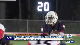 Parents want answers from Oxbridge Academy - Video